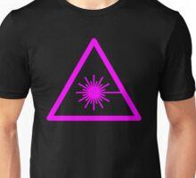 Warning Laser Unisex T-Shirt