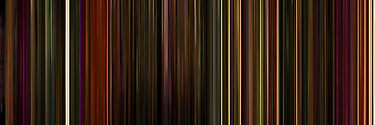 Moviebarcode: Enter the Void (2009) by moviebarcode