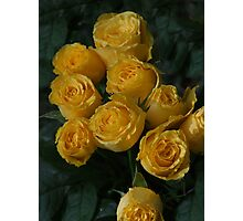 Some Roses for You! Photographic Print