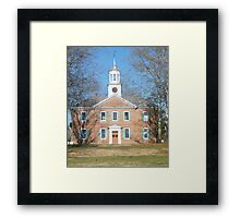 1767 Chowan County Courthouse Framed Print