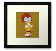 Kid Velma Dinkley Framed Print