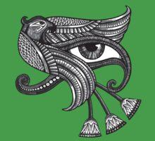 Eye of Horus (Tattoo Style Tee) One Piece - Short Sleeve