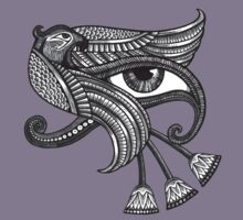 Eye of Horus (Tattoo Style Tee) Kids Clothes