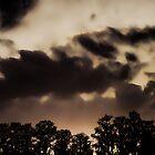 Ghostly Sunset by daphsam