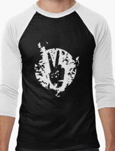 V for victory design color 2 Men's Baseball ¾ T-Shirt