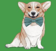 Corgi Dog Kids Tee