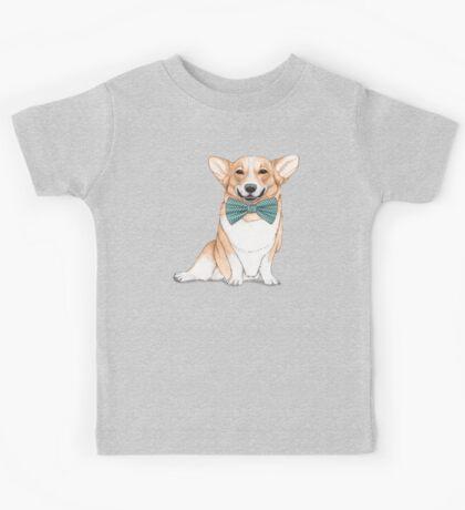 Corgi Dog Kids Tee