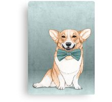 Corgi Dog Canvas Print