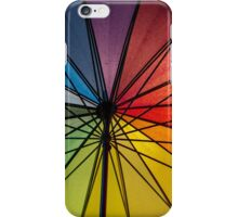Rainbow Umbrella iPhone Case/Skin