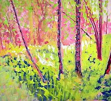 A walk through Pink and Green by Susan  Wellington