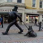 Desperate Dan goes shopping by biddumy