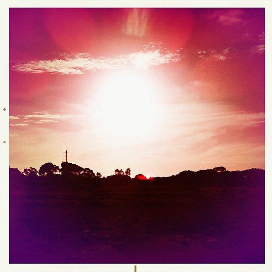 Red Hot Sunset by LJ_©BlaKbird Photography