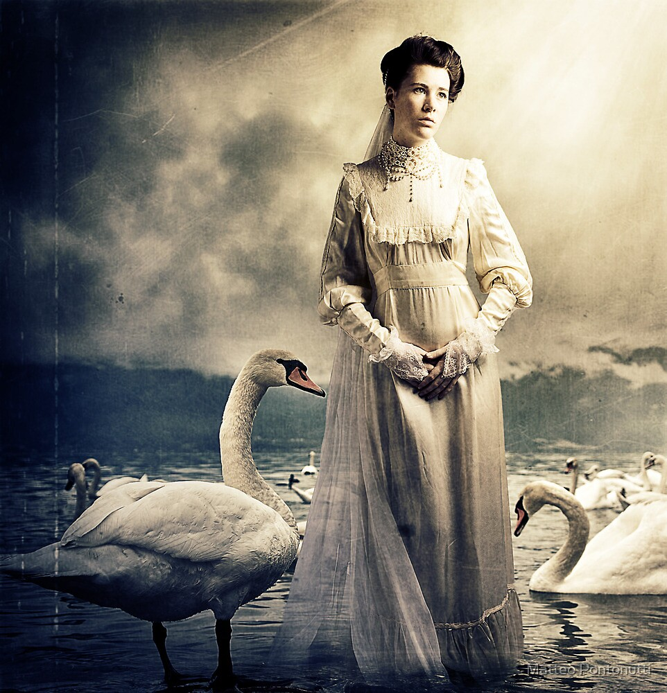 Her Swans by Matteo Pontonutti
