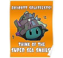 Boycott Splatfests! Poster