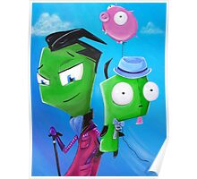 Zim and Gir Poster