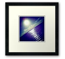 The Ripple Effect Framed Print