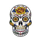 SUGAR SKULL 0002 by Tony  Bazidlo