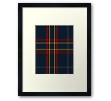 00653 East of Scotland Tartan Army  Framed Print