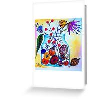Potpourri Jar Greeting Card