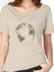 earth night Women's Relaxed Fit T-Shirt