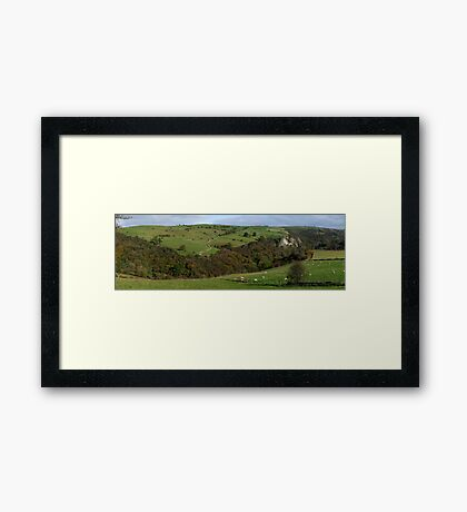 Manifold Valley from Weag's Barn Framed Print