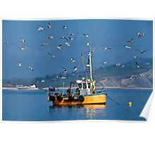 Slippery Dick ~ Lyme Regis Poster