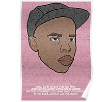 "Earl Sweatshirt ""Solace"" Inspired Poster Poster"