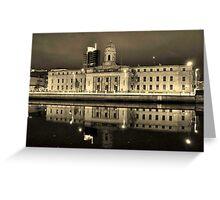 cork city hall ireland  Greeting Card