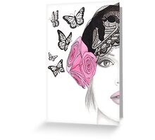 Butterfly Belle Greeting Card