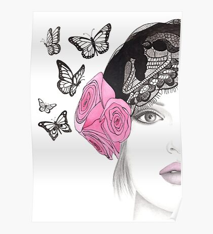 Butterfly Belle Poster
