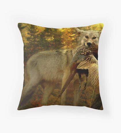 Nature Provides  Throw Pillow