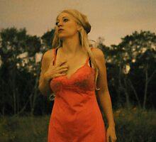 Peach Nighty by Betsy Krooke
