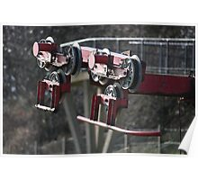 Chair Lift workings. Poster