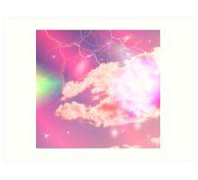 fantasy skies Art Print