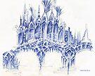sketch for a bridge by terezadelpilar~ art & architecture