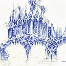 sketch for a bridge by terezadelpilar~ art & architecture
