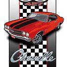 Chevelle 427 by Steve Harvey
