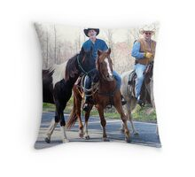 Carolina Cowboys Throw Pillow