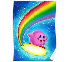Kirby Rainbow Poster