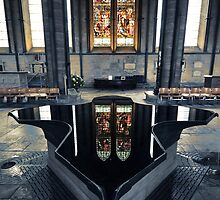 The Font-Salisbury Cathedral by Adam  Barstow