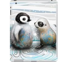 Penguin Chick and Baby Seal iPad Case/Skin