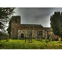The Church Of St Andrew,Dacre Photographic Print