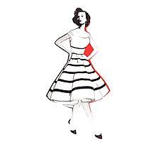 Designer Dress Photographic Print