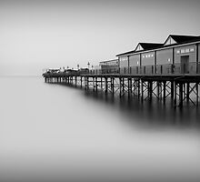 Soundless - Teignmouth Devon by Keith  Aggett