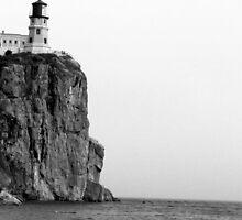 Two Harbors, MN: Little Girl & Light House by ACImaging