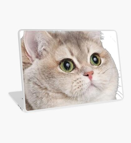 Heavy Breathing Cat- Improved Laptop Skin
