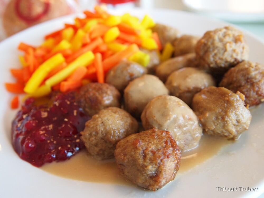 Ikea meatballs by Thibault Trubert