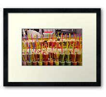This is the Last Straw... Framed Print
