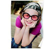 Goofy Girl Poster