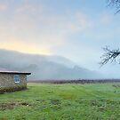Keebles Hut, Kosciuszko National Park, New South Wales, Australia by Michael Boniwell